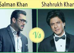 Salman Khan Vs Shahrukh Khan — Star Comparison and Analysis..