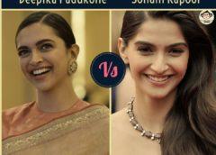 Deepika Padukone Vs Sonam Kapoor — Star Comparision and Analysis..